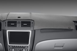 Image may not reflect your exact vehicle! DashMat® - Limited Edition™ Gray Polyester Custom Dash Cover