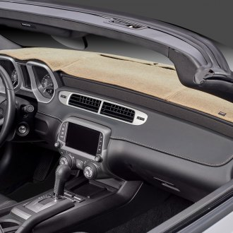 Image may not reflect your exact vehicle! DashMat® - Original Beige Dashboard Covers