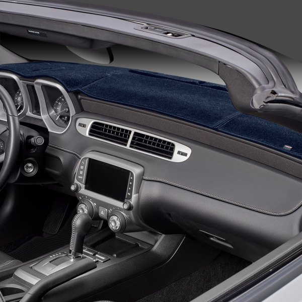 Image may not reflect your exact vehicle! DashMat® - Original Navy Dash Cover