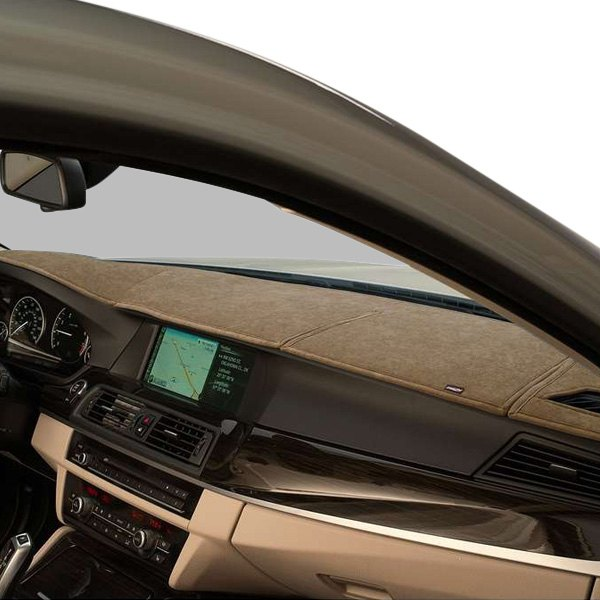 Image may not reflect your exact vehicle! DashMat® - SuedeMat™ Beige Custom Dash Cover