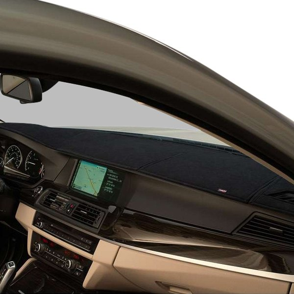 Image may not reflect your exact vehicle! DashMat® - SuedeMat™ Custom Black Dashboard Cover