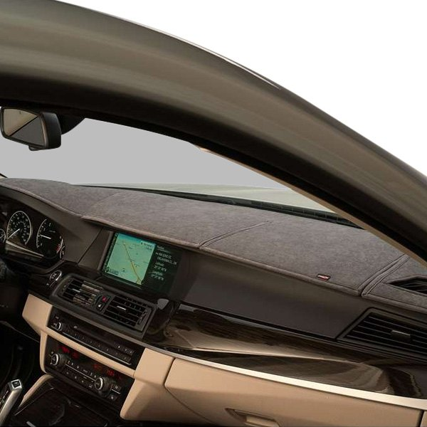 Image may not reflect your exact vehicle! DashMat® - SuedeMat™ Gray Custom Dash Cover
