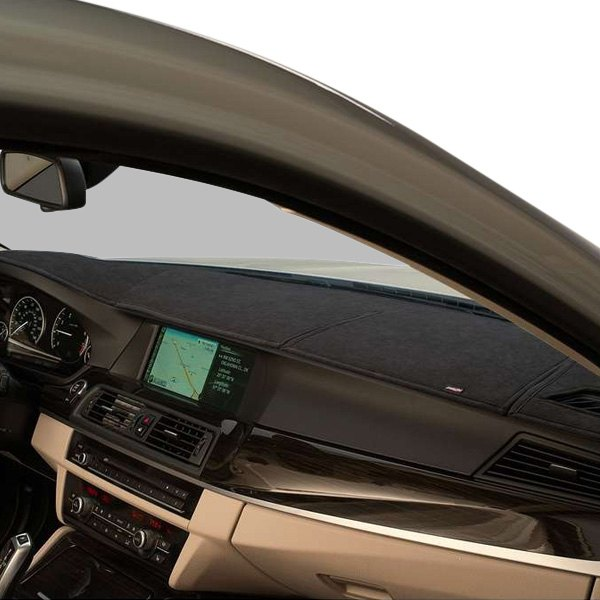 Image may not reflect your exact vehicle! DashMat® - SuedeMat™ Smoke Custom Dash Cover
