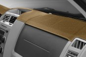 Image may not reflect your exact vehicle! DashMat® - UltiMat™ Beige Custom Dash Cover