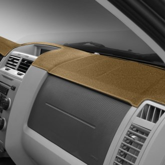 Image may not reflect your exact vehicle! DashMat® - UltiMat™ Custom Beige Dashboard Covers