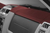 Image may not reflect your exact vehicle! DashMat® - UltiMat™ Custom Claret Claret Dashboard Cover