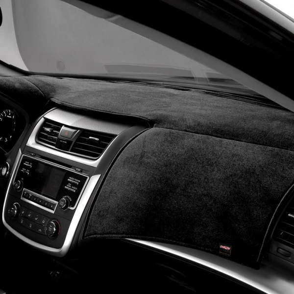 VelourMat Dashboard Cover Black Velour