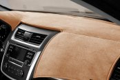Image may not reflect your exact vehicle! DashMat® - VelourMat™ Caramel Custom Dash Cover
