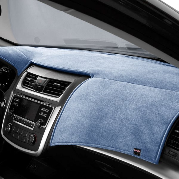 Image may not reflect your exact vehicle! DashMat® - VelourMat™ Custom Dash Blue Dashboard Cover