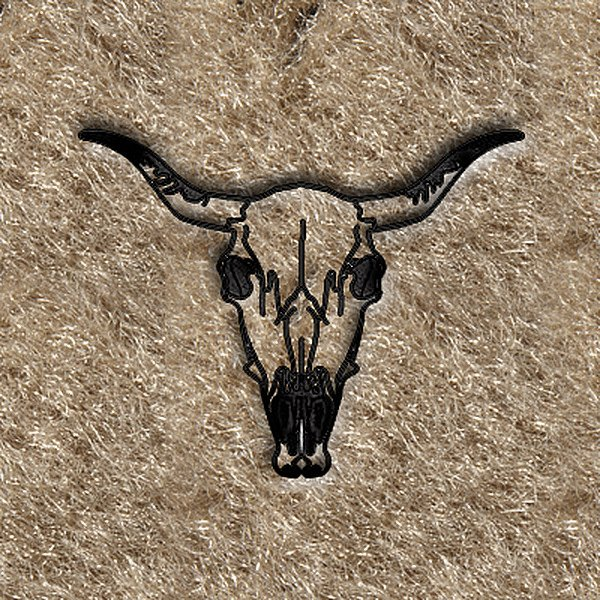 "DashMat® - Embroidery ""Steer Head"" Logo"