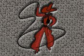 "DashMat® - Embroidery ""Cowboy"" Logo"