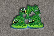 "DashMat® - Embroidery ""Leap Frogs"" Logo"