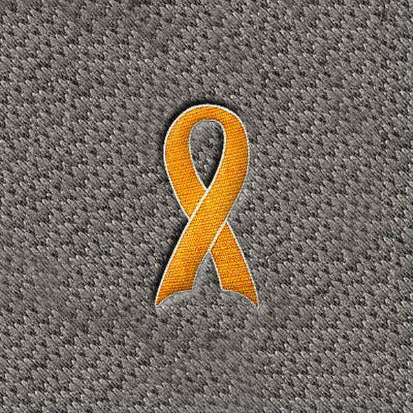 "DashMat® - Embroidery ""Yellow Support Ribbon"" Logo"