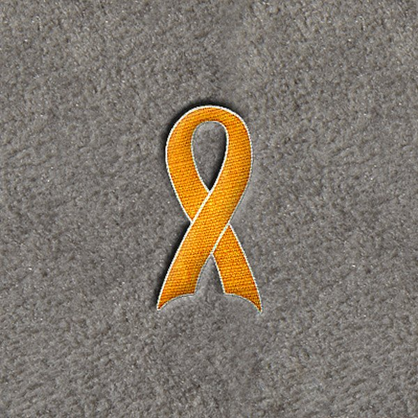"DashMat� - Embroidery ""Yellow Support Ribbon"" Logo"
