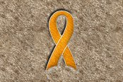 "DashMat® - Embroidery ""Support Ribbon"" Yellow Logo"
