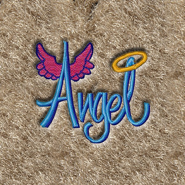 "DashMat® - Embroidery ""Angel"" Logo"