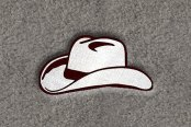 "DashMat® - Embroidery ""Cowboy Hat"" Logo"