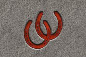"DashMat® - Embroidery ""Horseshoes"" Logo"