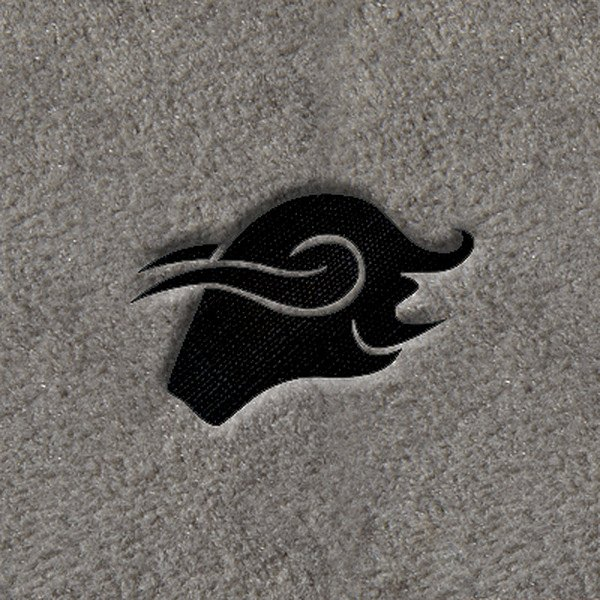 "DashMat® - Embroidery ""Taurus"" Black Logo"