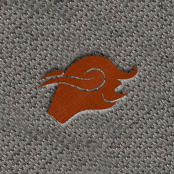 "DashMat® - Embroidery ""Taurus Brown"" Logo"