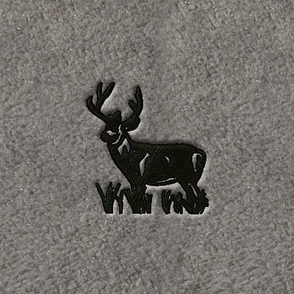 "DashMat® - Embroidery ""Deer"" Black Logo"
