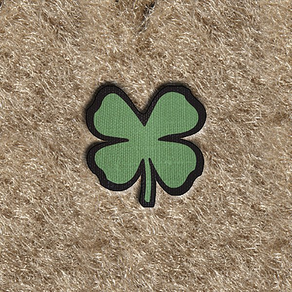 "DashMat® - Embroidery ""4 Leaf Clover"" Logo"