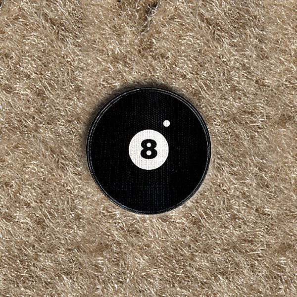 "DashMat® - Embroidery ""8 Ball"" Logo"