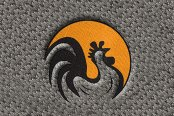 "DashMat® - Embroidery ""Rooster"" Logo"