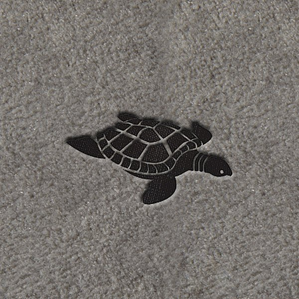 "DashMat® - Embroidery ""Sea Turtle"" Black Logo"