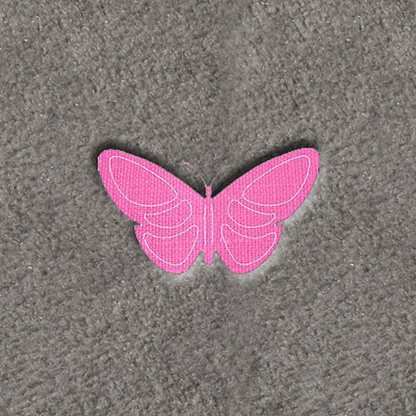 "DashMat® - Embroidery ""Butterfly"" Logo"