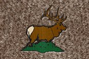 "DashMat® - Embroidery ""Elk"" Logo"