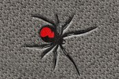 "DashMat® - Embroidery ""Black Widow Spider"" Logo"