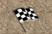 "DashMat® - Embroidery ""Checkered Flag"" Logo"