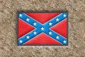 "DashMat® - Embroidery ""Confederate Flag"" Logo"
