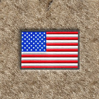 Dashmat® - US Flag Embroidered Logo