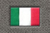 "DashMat® - Embroidery ""Italy Flag"" Logo"