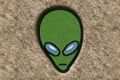 "DashMat® - Embroidery ""Alien"" Logo"