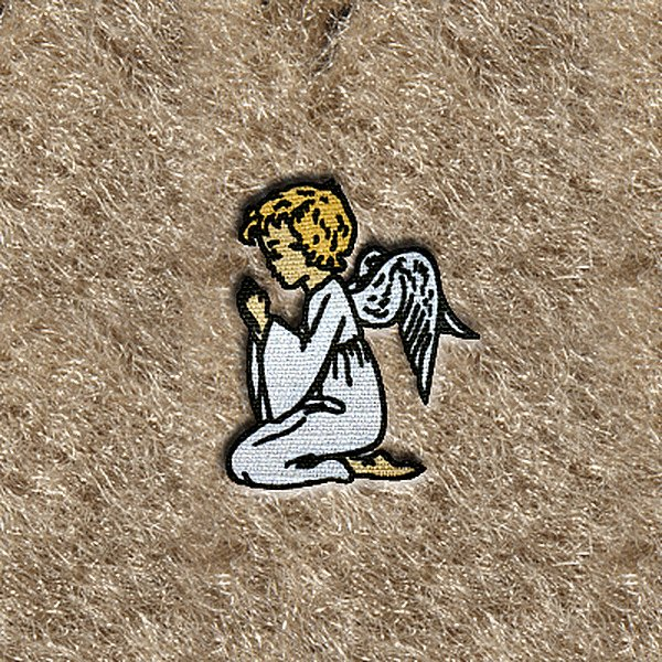 "DashMat® - Embroidery ""Angel Praying"" Logo"