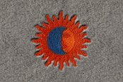 "DashMat® - Embroidery ""Sun/Moon"" Logo"