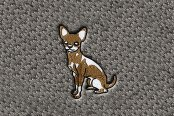 "DashMat® - Embroidery ""Chihuahua"" Logo"