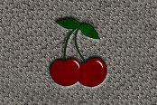 "DashMat® - Embroidery ""Cherries"" Logo"