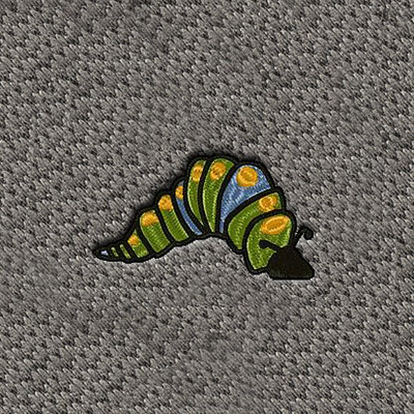 "DashMat® - Embroidery ""Caterpillar"" Logo"