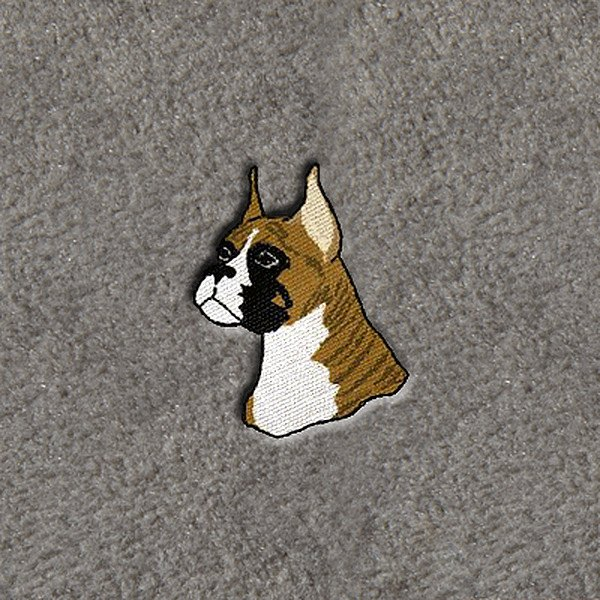 "DashMat® - Embroidery ""Boxer Dog"" Logo"