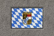 "DashMat® - Embroidery ""Bavarian Flag"" Logo"