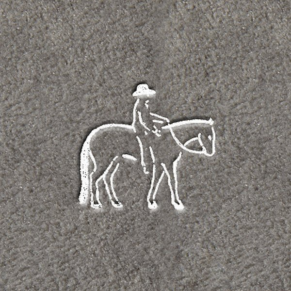 "DashMat® - Embroidery ""Western"" White Logo"