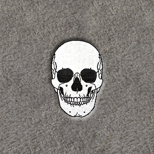 "DashMat® - Embroidery ""Skull"" Logo"