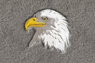 "DashMat® LS801 - ""Eagle"" Embroidered Logo"