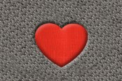 "DashMat® - Embroidery ""Solid Heart"" Logo"