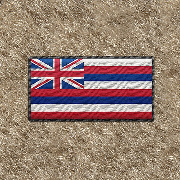 "DashMat® - Embroidery ""Hawaii State Flag"" Logo"