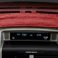 DashMat® - Red Dashboard Cover